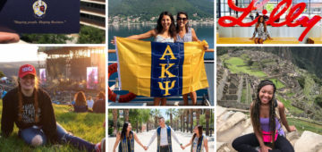 Wearing Letters - Alpha Kappa Psi